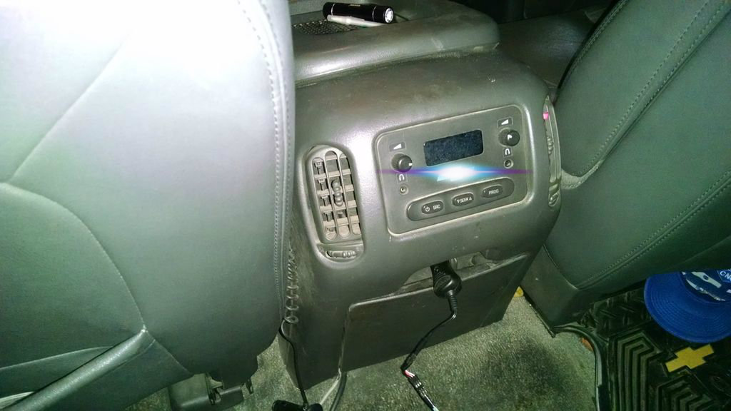 Picture of Installation on Rear Seat Vents