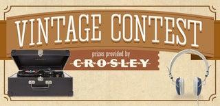 Vintage Contest