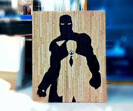 Ironman Tony Stark Silhouette