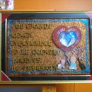 handmade gift for parents anniversary from me..