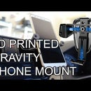 3D Printed Gravity Powered Mechanical Car Phone Mount