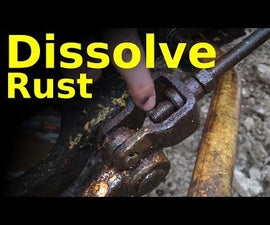 STOP Fighting Rusty Parts DISSOLVE THE RUST