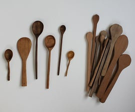 DIY: Hand-carved wooden spoons