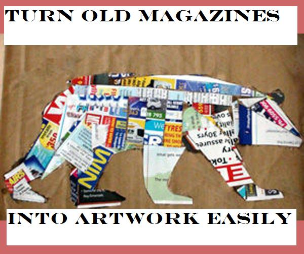 Picture of Turn an Old Magazine Into Artwork Easily!