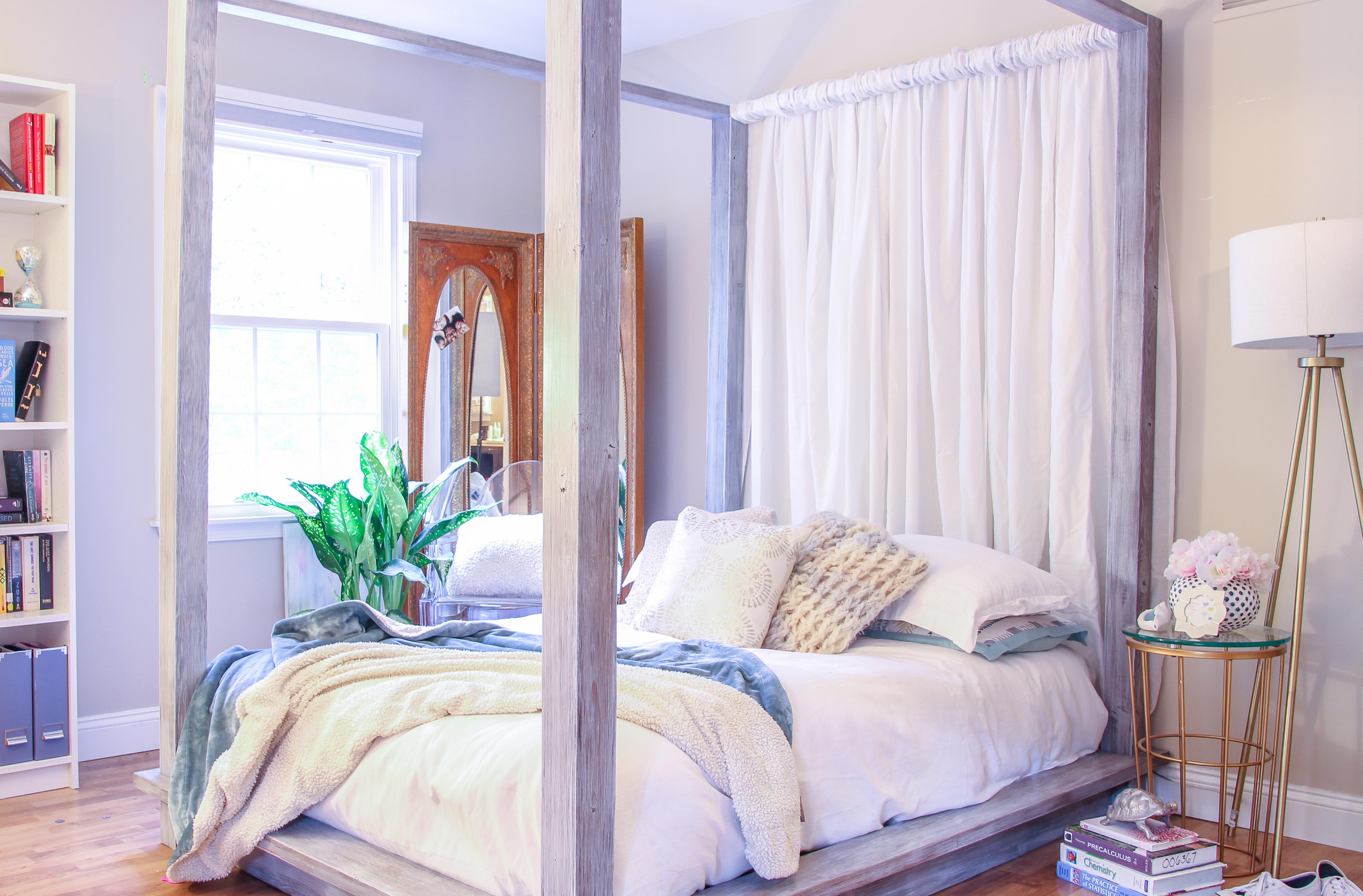 Picture of DIY Platform Bed for Under