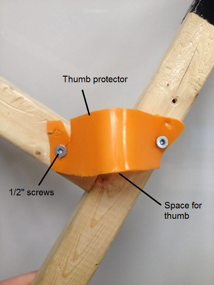 Picture of Adding a Thumb Protector