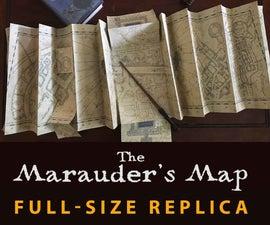 Marauder's Map FULL SIZE Replica