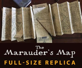Marauder's Map FULL SIZE Replica