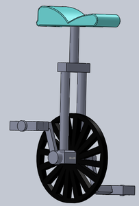 How to Make a Unicycle in Solidworks