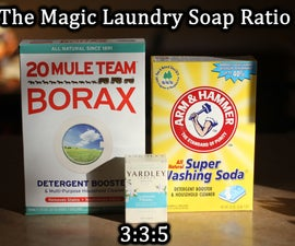 Laundry Detergent by Numbers