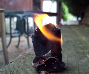 1 Minute Duct Tape Fire Starter