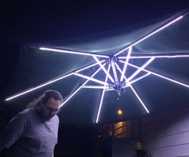 Ultimate LED Market Umbrella Light