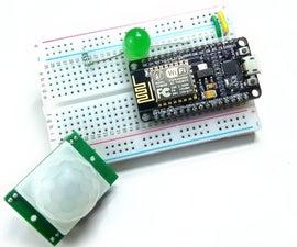 Interface PIR Sensor With NodeMCU