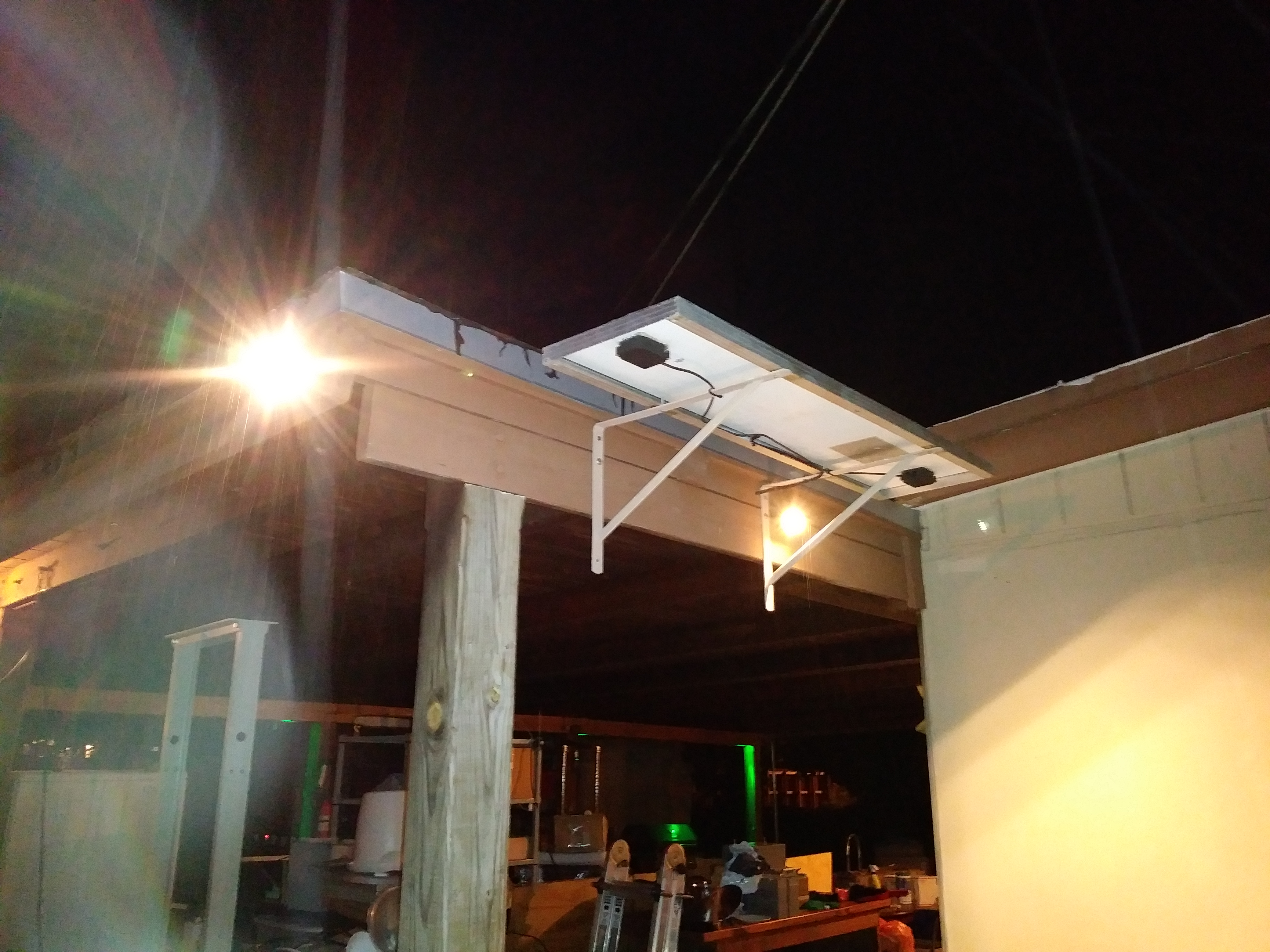 Picture of Solar Powered LED Yard Lighting Made Cheap & Easy