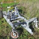 Bicycle operated 4-wheel vehicle (DiffBikeDorli)