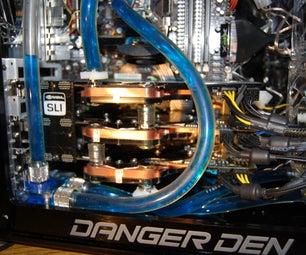 Danger Den / Nvidia Tri SLI Water Cooled Gaming PC