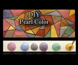 DIY Pearl Metallic Colors | Pearl Metallic Colors Tutorial