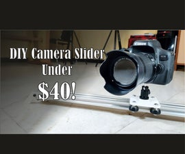 Camera Slider Under $40!