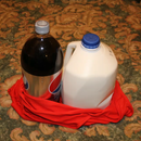 DIY Craft re-purpose, up-cycle a T-Shirt into a stylish Grocery Bag. Video tutorial at the end of this instructable!