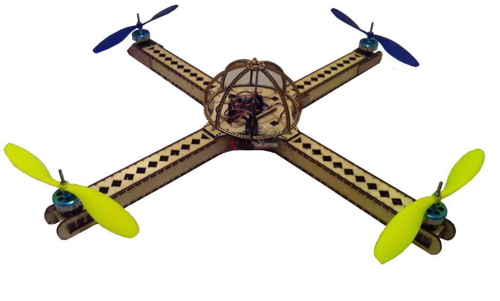 Picture of How to Make an Entire Drone/Multirotor and Camera Gimbal Using Laser Cut Parts