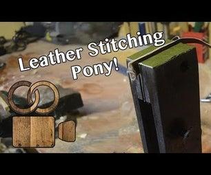 Leather Stitching Pony