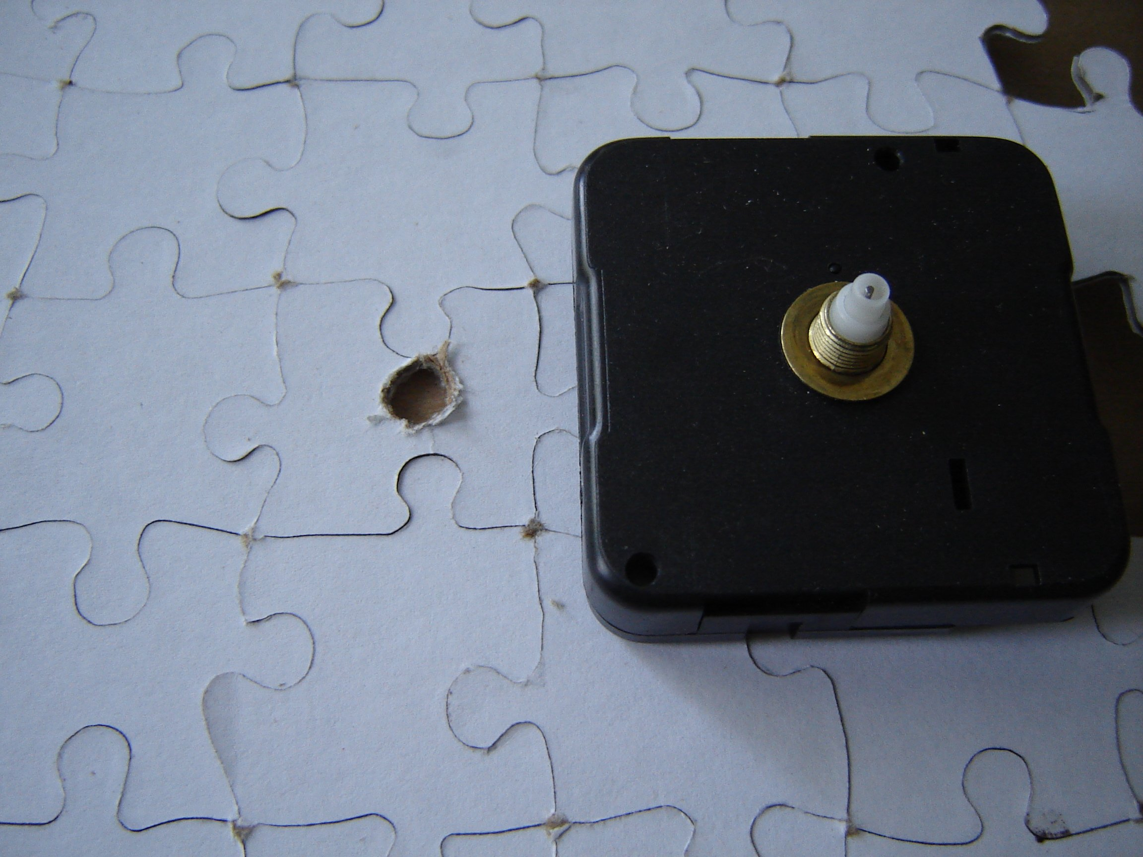 Picture of Make Hole for Clock