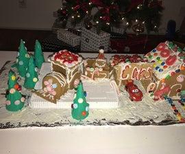 Gingerbread House Disney Cars Mcqueen