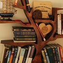 Forest bookshelf