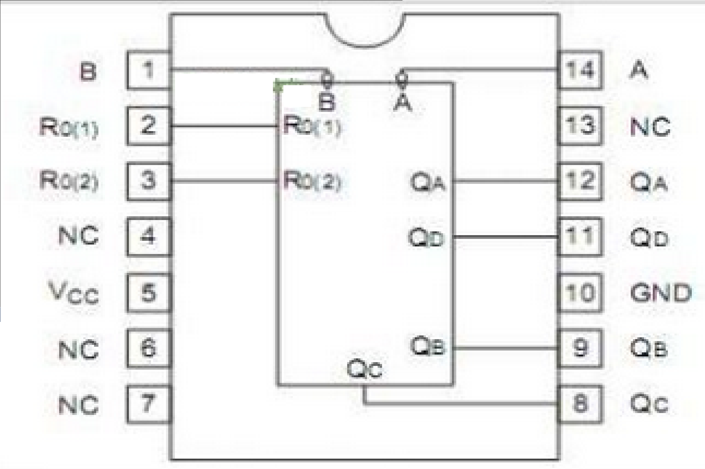 74ls93n Pin Diagram Diy Enthusiasts Wiring Diagrams 7 Segment Decade Counter Tutorial Featuring The 74ls93 A Key To Rh Instructables Com Usb Cat 5