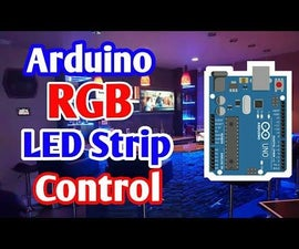 Controlling RGB Led Strip With Arduino