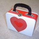 Handmade Valentine's Day Flipbooks and Container