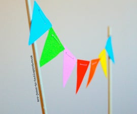 Quick and Easy Mini Bunting