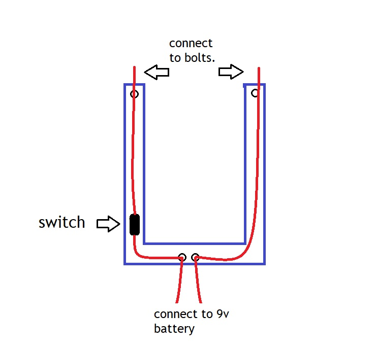 Picture of Making the Handle and Wiring.