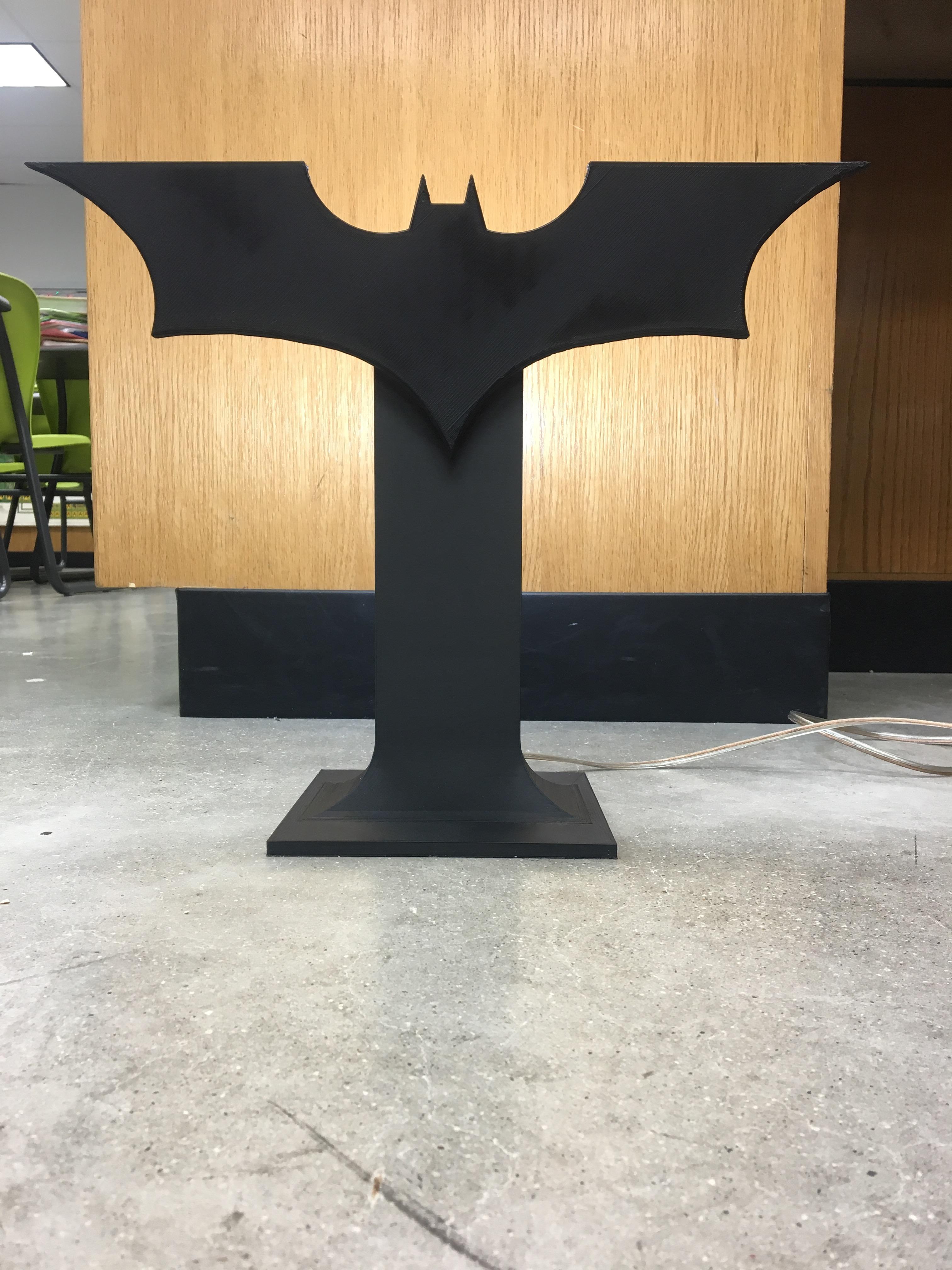 Picture of Batman Lamp, 3D Printed
