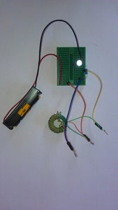 Conclusion - Working Joule Thief