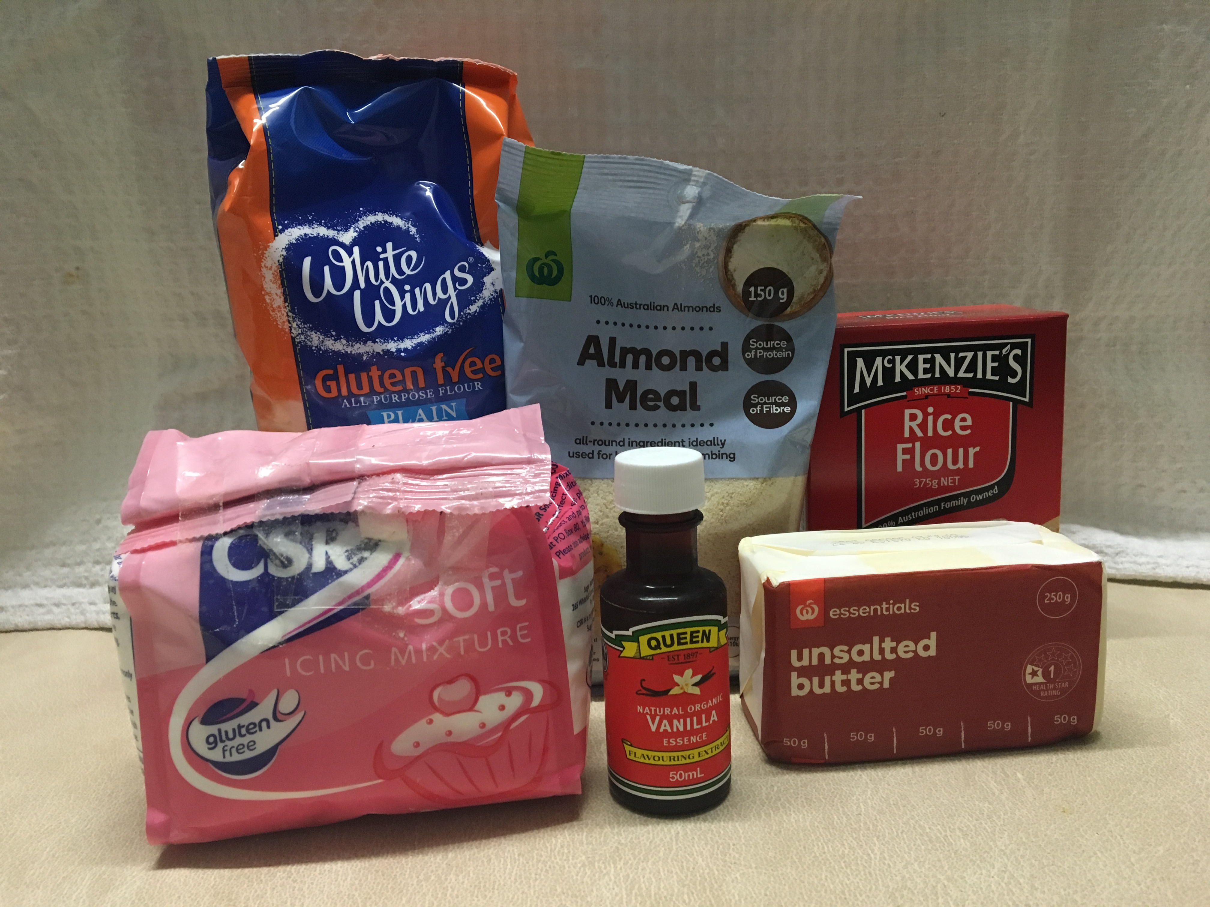 Picture of Collect Shortbread Ingredients
