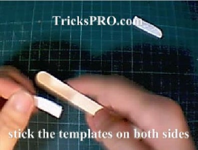 How to Turn Ice-cream Stick Into Key