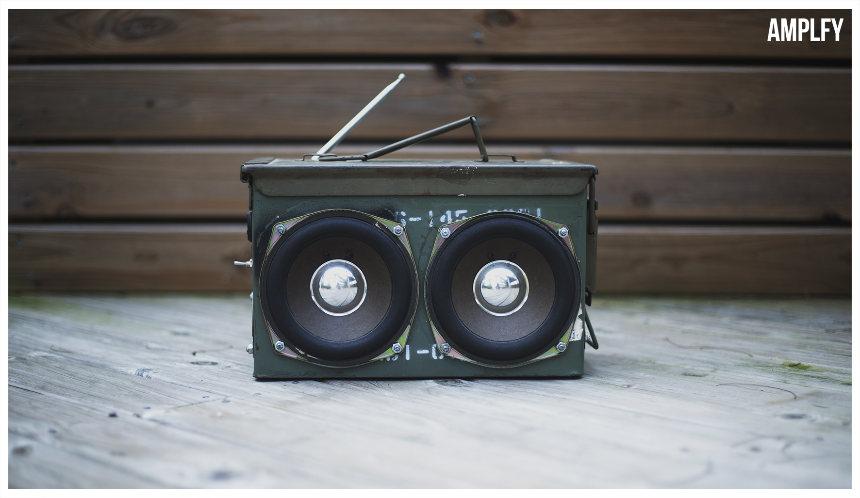 Picture of AMPLFY - Ammo Box Portable Speaker!