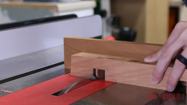 Picture of Cut the Nesting Joinery on the Lower Rails