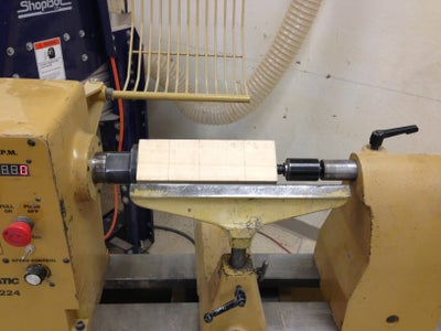 Using the Roughing Gough to Make a Cylinder