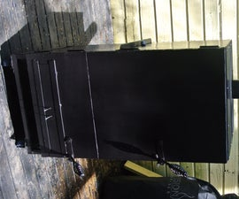 Making a Vertical Smoker and Grill