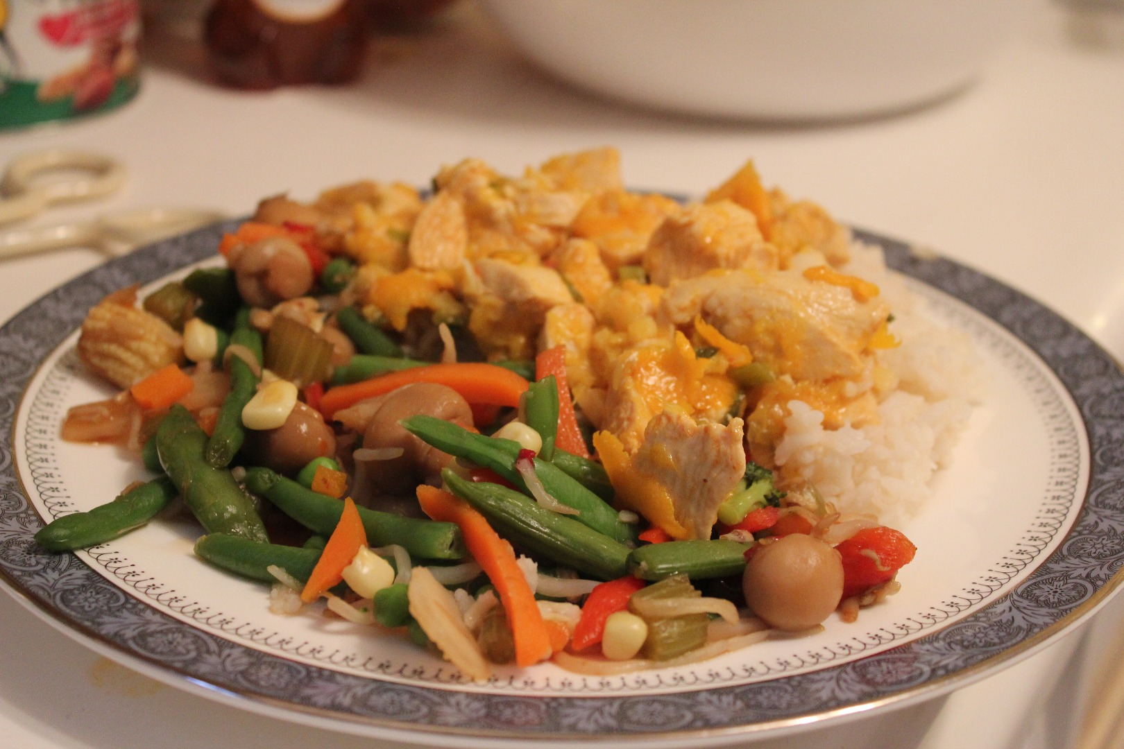 Picture of Delicious and Light Orange Chicken