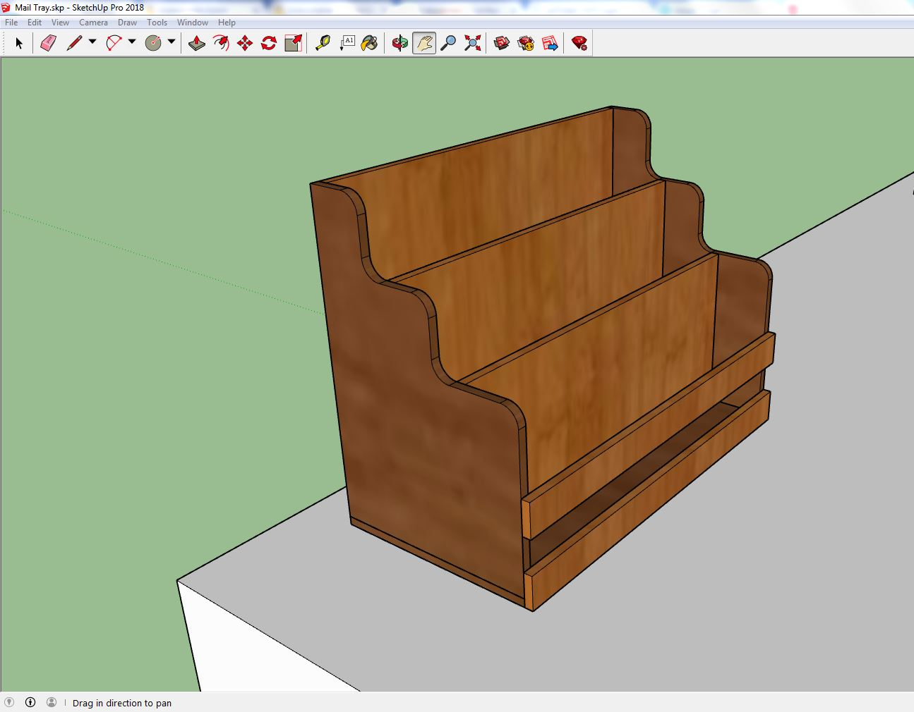 Picture of Step 1: Designing the Tray