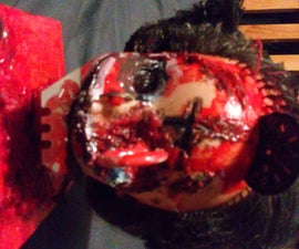 Halloween Dolls Head With Arduino
