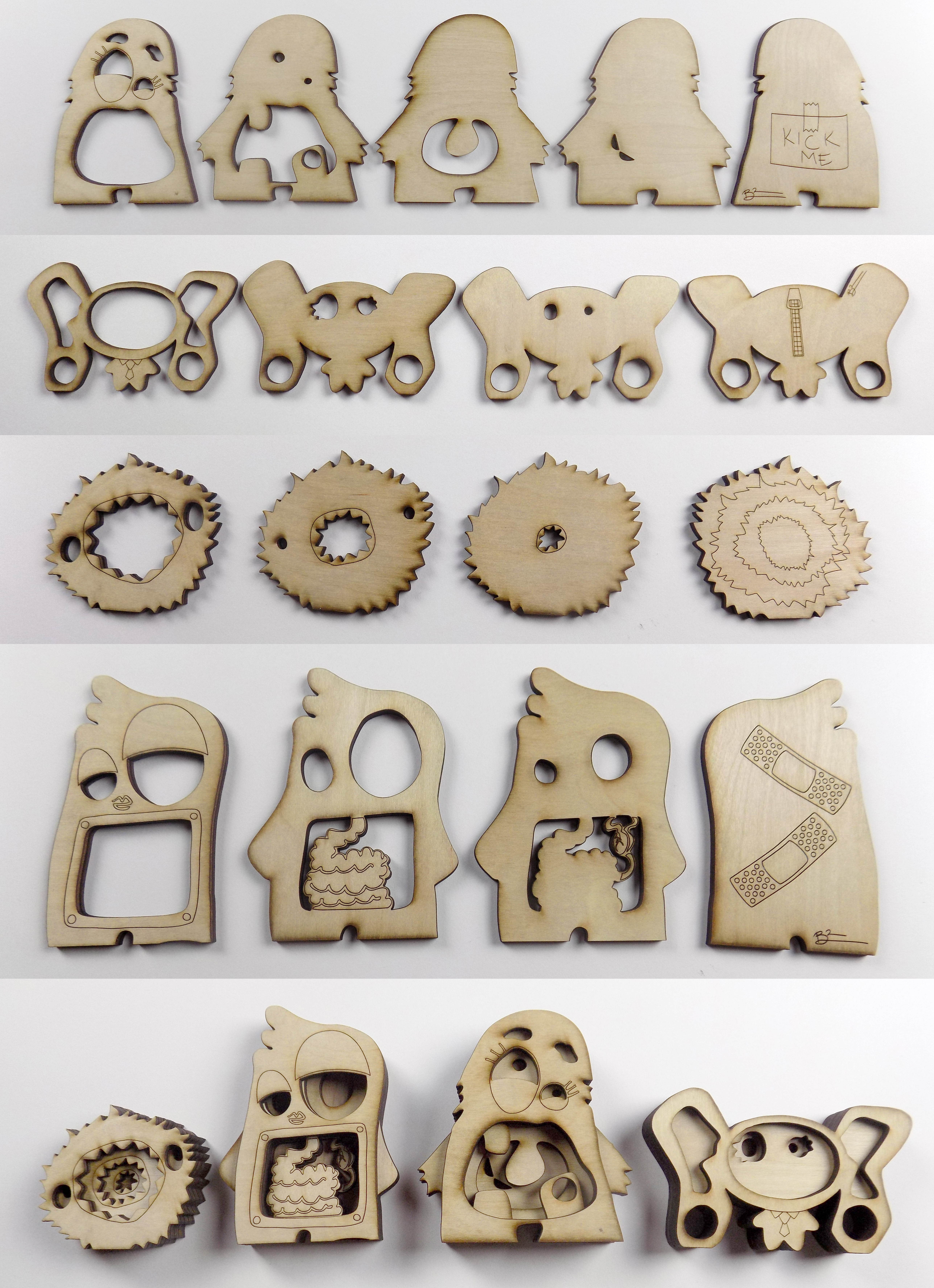 Picture of Pieces From Wood