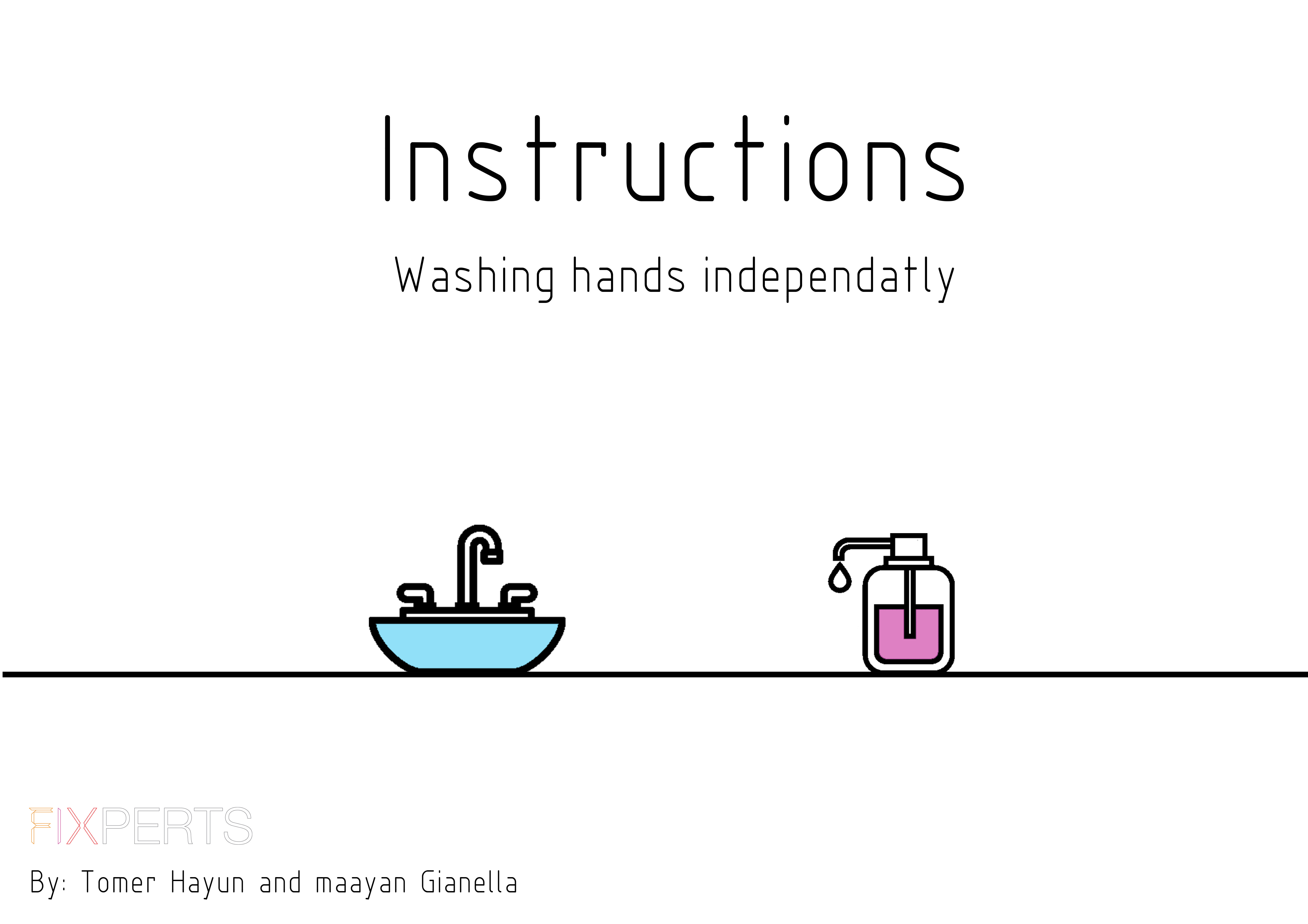 Picture of Washing Hands Independently