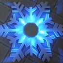 LED Snowflake Decoration from cheap effect light