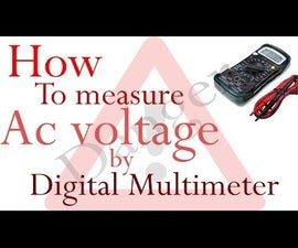 How to Measure AC Voltage Using Multimeter