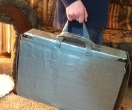 Heavy Duty Duct Tape Brief Case/instant Workspace