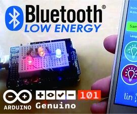 Genuino 101 BLE Led Control